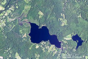 Clary Lake arrial view_NAIP_2015